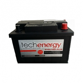 BATERIA TECH ENERGY 70Ah+I-TECH70.1I  278X175X190