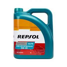 Aceite Repsol Elite 50700/50400-LONG LIFE 5L